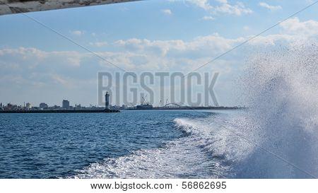 Leaving Ishihaki Port