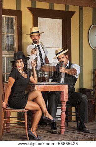 Three Vintage Gangster
