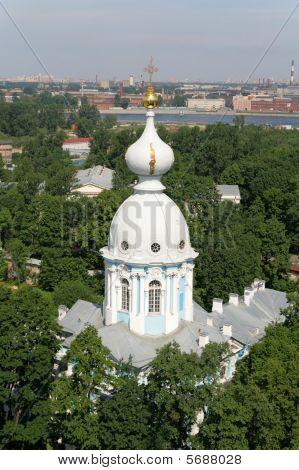 Bird's-eye View Of St. Petersburg