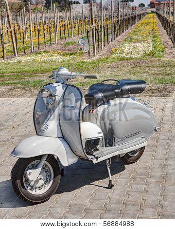 Vintage Italian Scooter Lambretta