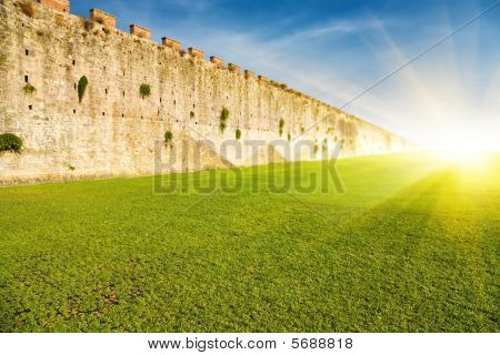 Endless Wall Perspective