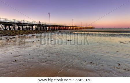 Sandgate Pier At Dusk