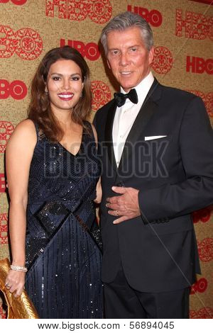 vLOS ANGELES - JAN 12:  Michael Buffer at the HBO 2014 Golden Globe Party  at Beverly Hilton Hotel on January 12, 2014 in Beverly Hills, CA