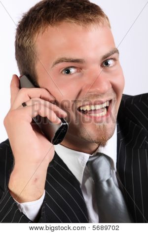Business Phone Enthusiasm