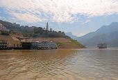 Boats on the Yangtse River