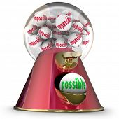 picture of gumball machine  - Possible Gum Ball Machine Dispenser Vs Impossible Task Job - JPG