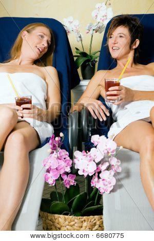 Women in a health club