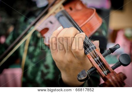 Strings Of A Violin