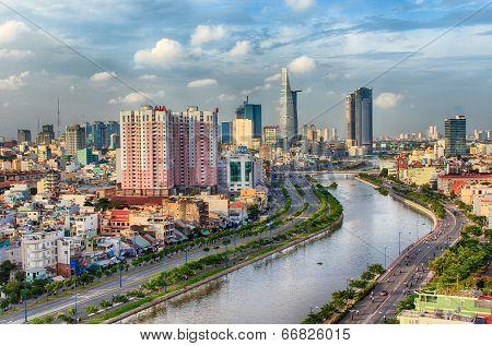 HO CHI MINH CITY, VIET NAM - CIRCA JUNE, 2014