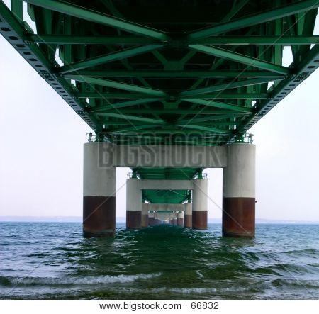 Suspension Bridge Pilings