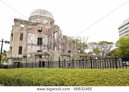 The Atomic Bomb (a-bomb) Dome, Hiroshima, Japan