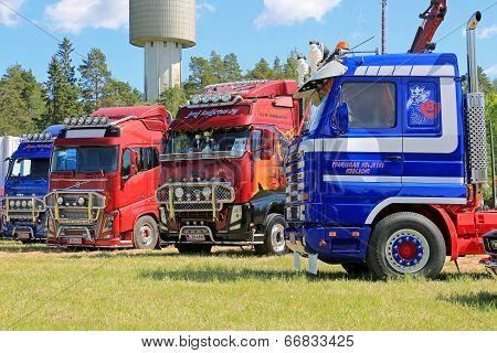 Truck Art At Hema Show In Loimaa, Finland