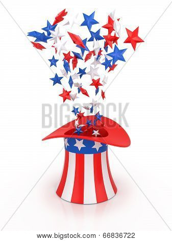 4Th Of July Celebration Hat.