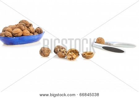 Walnuts & nutcracker