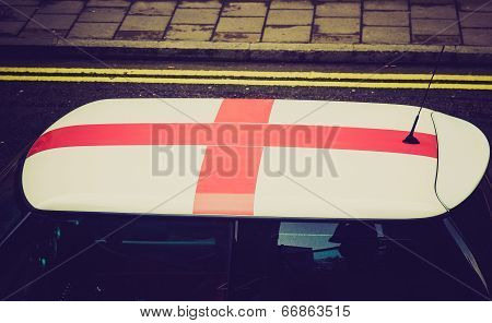 Retro Look England Flag