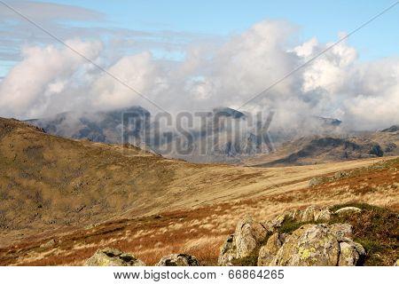 View towards Scafell Range