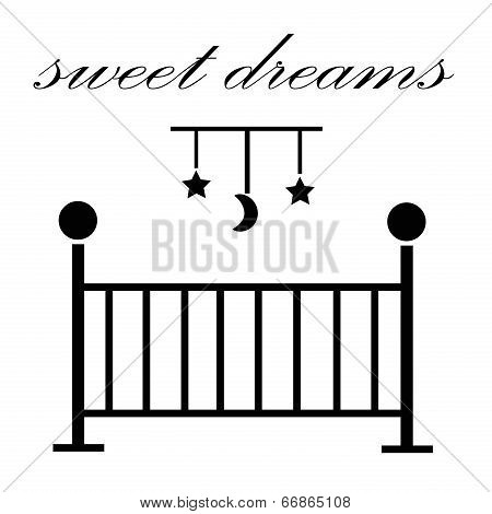 Sweet Dreams Baby Crib