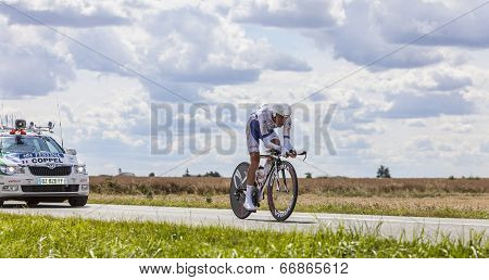 The Cyclist Jerome Coppel