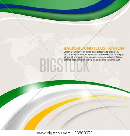 eps10 vector trendy abstract background