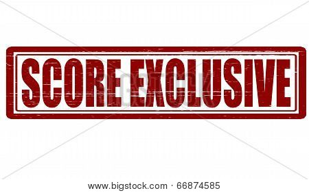 Score Exclusive