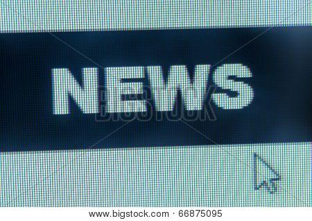 News Word And Cursor