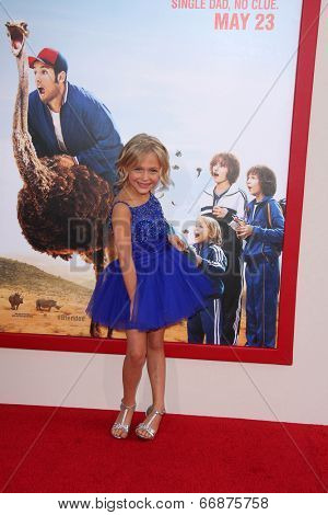 LOS ANGELES - MAY 21:  Alyvia Alyn Lind at the