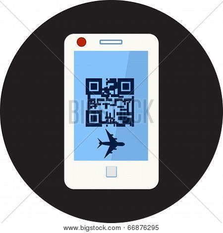 Samartphone and qr code