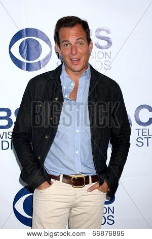 LOS ANGELES - MAY 19:  Will Arnett at the CBS Summer Soiree at the London Hotel on May 19, 2014 in West Hollywood, CA