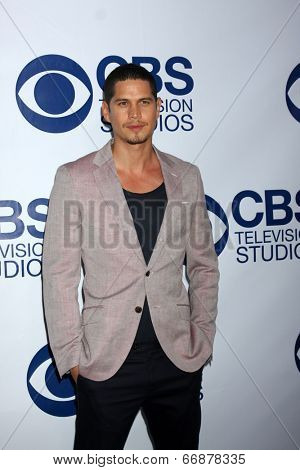 LOS ANGELES - MAY 19:  JD Pardo at the CBS Summer Soiree at the London Hotel on May 19, 2014 in West Hollywood, CA