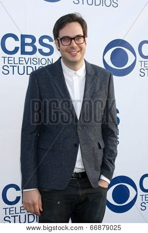 LOS ANGELES - MAY 19:  Nelson Franklin at the CBS Summer Soiree at the London Hotel on May 19, 2014 in West Hollywood, CA