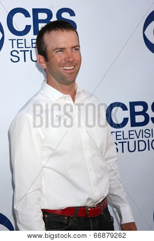 LOS ANGELES - MAY 19:  Lucas Black at the CBS Summer Soiree at the London Hotel on May 19, 2014 in West Hollywood, CA