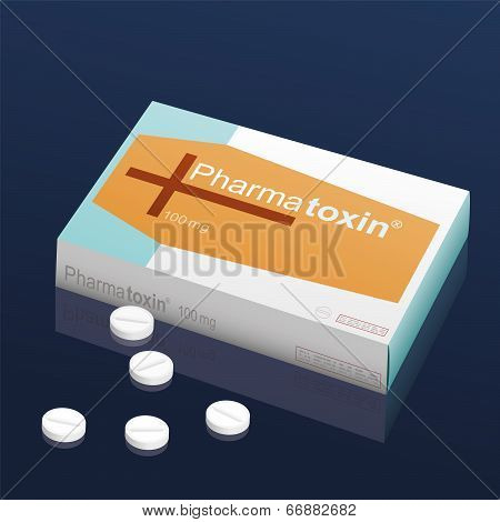 Pills Pharmatoxin Coffin