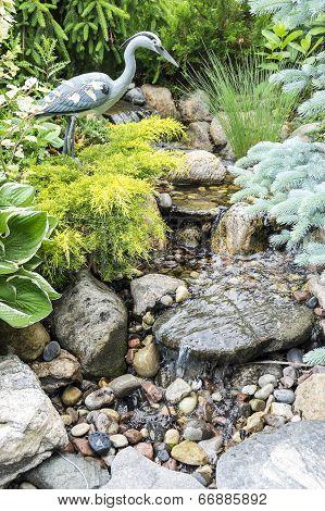 Stream Through a Rock Garden