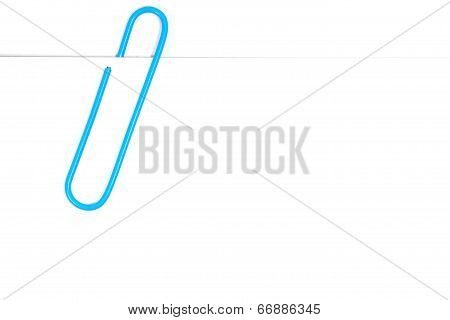 paper clip and paper