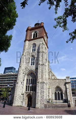 St. Giles Without Cripplegate Church In London