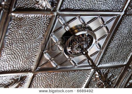 Tin Ceiling Detail
