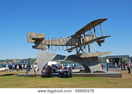 Monument Of The Biplane,  Lisbon, Portugal
