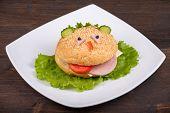 image of freaky  - Fun food for kids  - JPG