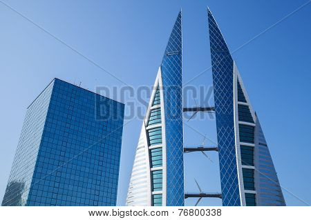 Manama City Skyline, Bahrain World Trade Center