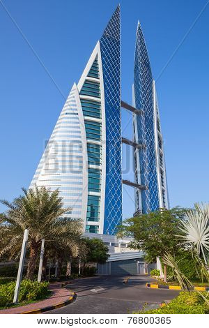 Bahrain World Trade Center, Manama, Middle East