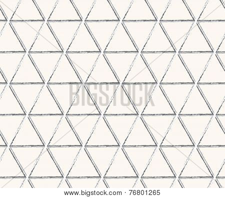 triangle technology lines seamless pattern