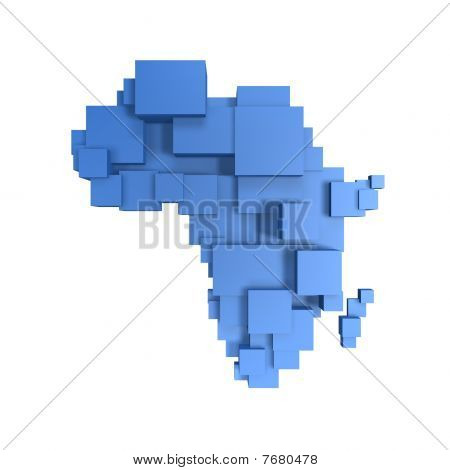 Box Map Of Africa