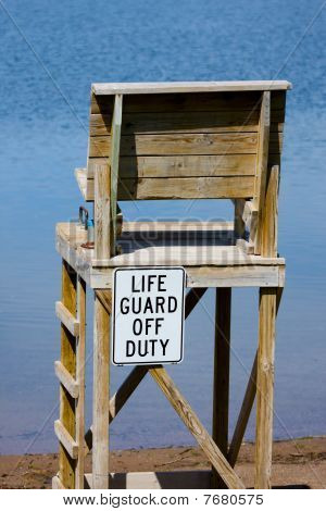 Life Guard Off Duty Chair