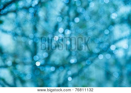 Blue Twisted Sparkle Background