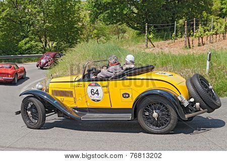 Bugatti T 40 (1930)  In Mille Miglia 2014