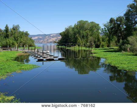 Waterway To The Lake
