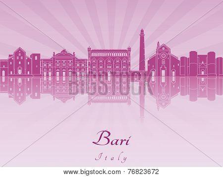 Bari Skyline In Purple Radiant Orchid