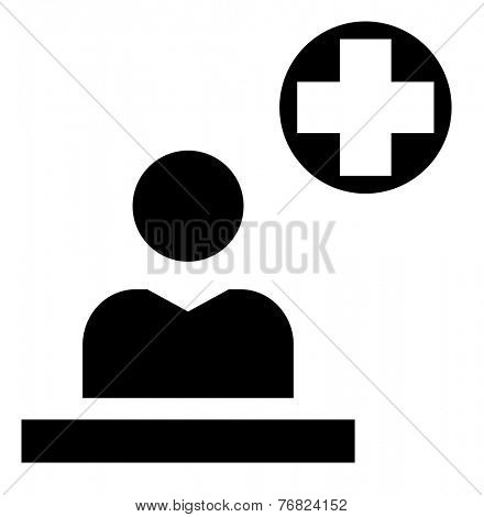 First aid station icon