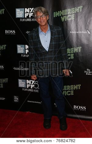 NEW YORK-OCT 4: Actor Eric Roberts attends 'Inherent Vice' Centerpiece Gala Presentation & World Premiere at the 52nd New York Film Festival at Alice Tully Hall on October 4, 2014 in New York City.