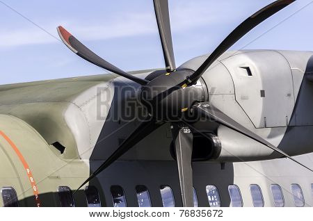 Airplane Propeller Detail.